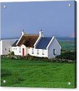 Doolin, Co Clare, Ireland Renovated Acrylic Print