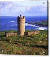 Doonagore Castle, Co Clare, Ireland Acrylic Print