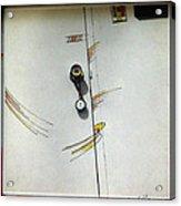 Door 1980 Acrylic Print by Glenn Bautista