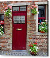 Door And Windows Acrylic Print