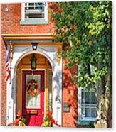 Door In Historic District I Acrylic Print