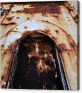 Door Of Rust Acrylic Print