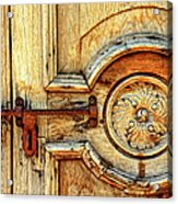 Door Study Taos New Mexico Acrylic Print