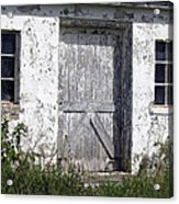 Door To Barn Acrylic Print
