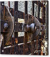 Door To Death Row Acrylic Print