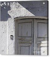 Doors Number 9 Acrylic Print