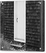 Doorway By The Sea Cape Cod National Seashore Acrylic Print by Michelle Wiarda