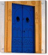 Doorway In Tunisia 2 Acrylic Print