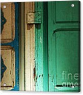 Doorway In Tunisia 4 Acrylic Print