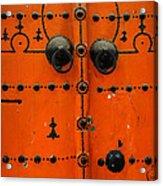 Doorway In Tunisia 6 Acrylic Print
