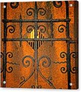 Doorway To Death Acrylic Print by Paul Ward