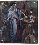 Dor�: Daughter Of Herod Acrylic Print