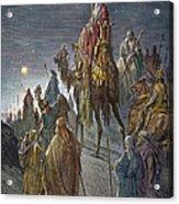 Dor�: Journey Of The Magi Acrylic Print