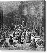 Dor�: London, 1872 Acrylic Print