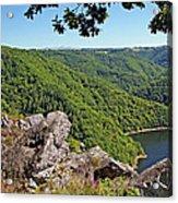 Dordogne Valley Acrylic Print