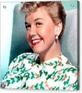 Doris Day, Warner Brothers, 1950s Acrylic Print