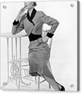Dorothy Mcguire, 1950s Acrylic Print by Everett