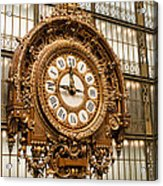 Dorsay Museum Paris France Acrylic Print