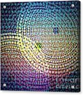 Dots Circles Acrylic Print