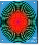 Dots X-ray Acrylic Print