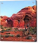 Double Arch Acrylic Print