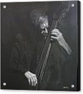 Double Bass Player Acrylic Print