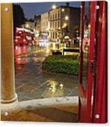 Double Decker Blur II Acrylic Print by Anna Villarreal Garbis