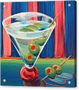 Double Dirty Martini Acrylic Print