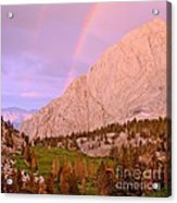 Double Rainbow Acrylic Print by Scott McGuire
