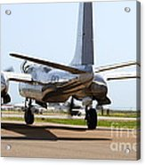 Douglas A26b Military Aircraft 7d15764 Acrylic Print by Wingsdomain Art and Photography