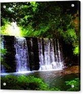 Dove Lake Falls Acrylic Print