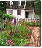 Down A Garden Path Acrylic Print