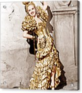 Down Argentine Way, Betty Grable, 1940 Acrylic Print