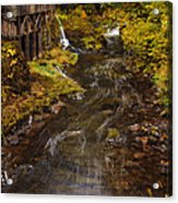 Down By The Old Mill Stream Acrylic Print