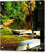 Down By The Riverside Acrylic Print