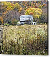 Down In A West Va Valley Acrylic Print