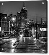 Down Mass. Ave. Acrylic Print
