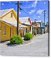 Down On Main Street Acrylic Print