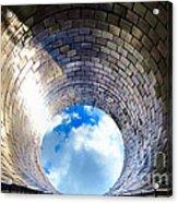 Down The Hole Acrylic Print