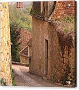 Down The Lane In Beynac France Acrylic Print