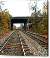 Down The Lines Acrylic Print