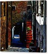 Down The Street Acrylic Print