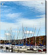 Down To The Docks Acrylic Print