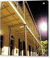 Downtown Balcony Baton Rouge Acrylic Print