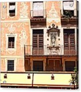 Downtown Barcelona Acrylic Print