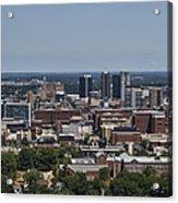 Downtown Birmingham Alabama Acrylic Print