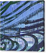 Downtown Blues Acrylic Print
