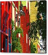 Downtown Ft Myers Acrylic Print