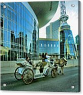 Downtown Nashville Iv Acrylic Print by Steven Ainsworth