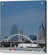 Downtown Nashville Acrylic Print